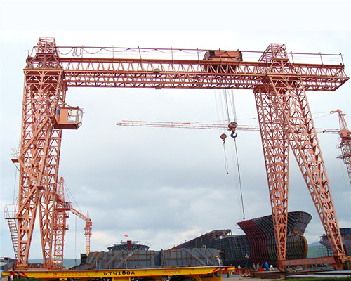 truss double girder gantry crane for sale