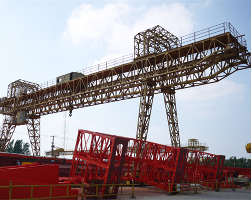 Double girder truss 20 ton rail mounted gantry crane with cheap price for sale
