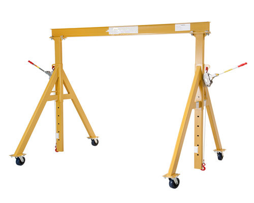 Fixed height steel gantry cranes for sale