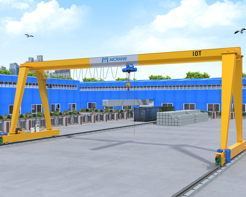 good 10 ton gantry crane