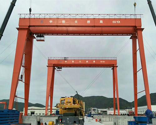 Reliable 60 Ton Gantry Crane Supplier for Sale
