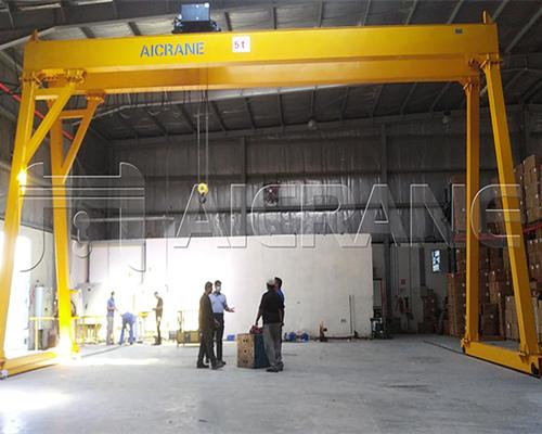 5 ton gantry crane