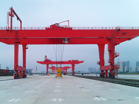 high quality rail gantry crane for sale