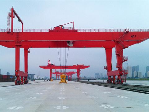 high quality rail gantry crane for sale