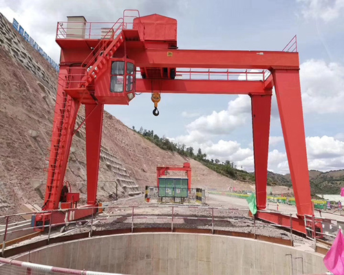 20t double girder gantry crane with cheap price for sale