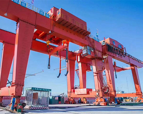 Excellent type gantry crane 100 ton with high quality for sale