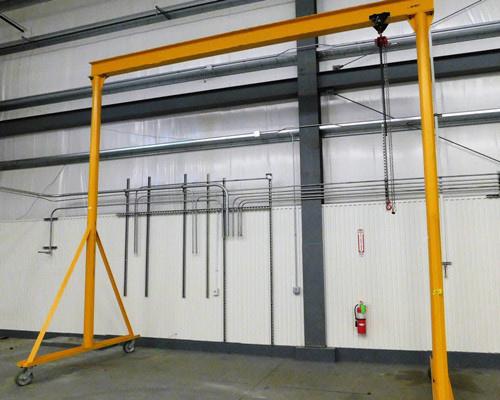 steel plate gantry crane 1 ton for sale